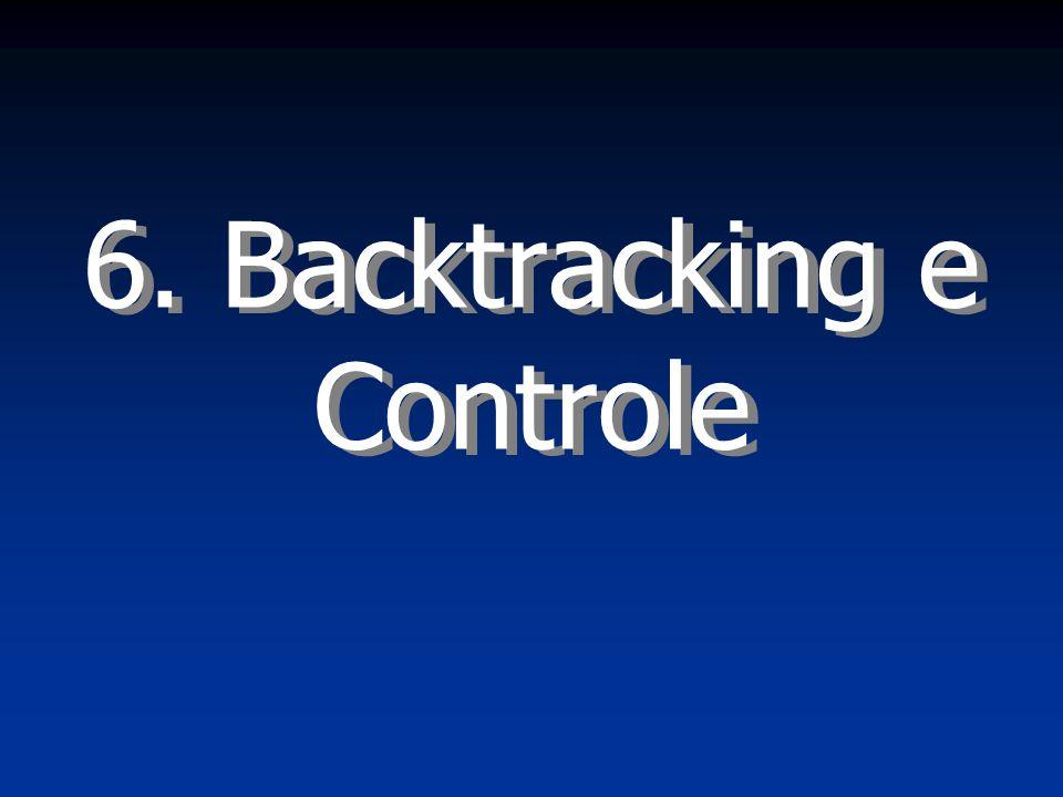 Introdução à Programação Prolog2 Backtracking Considere o seguinte programa abstrato e a consulta ?-a.