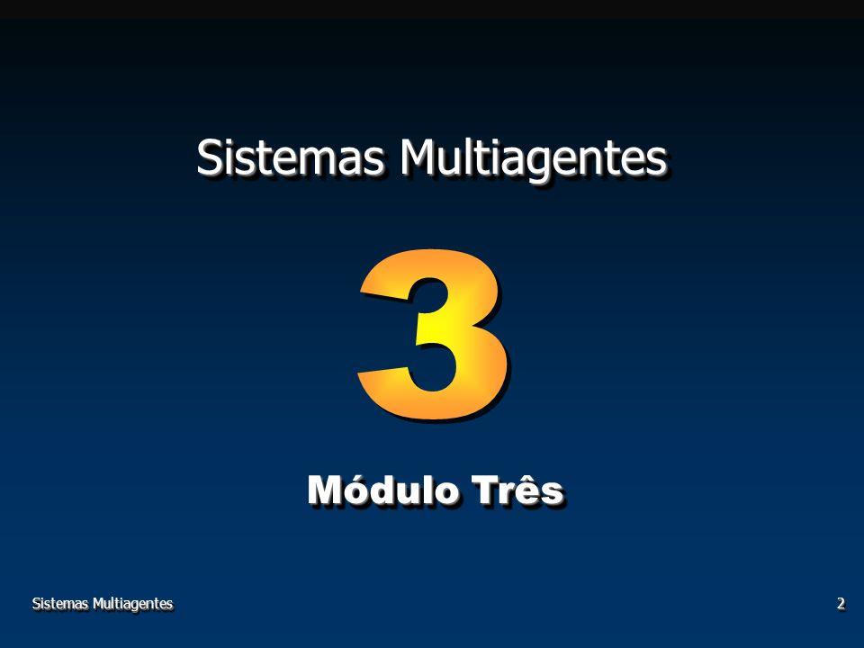 Sistemas Multiagentes2 Módulo Três