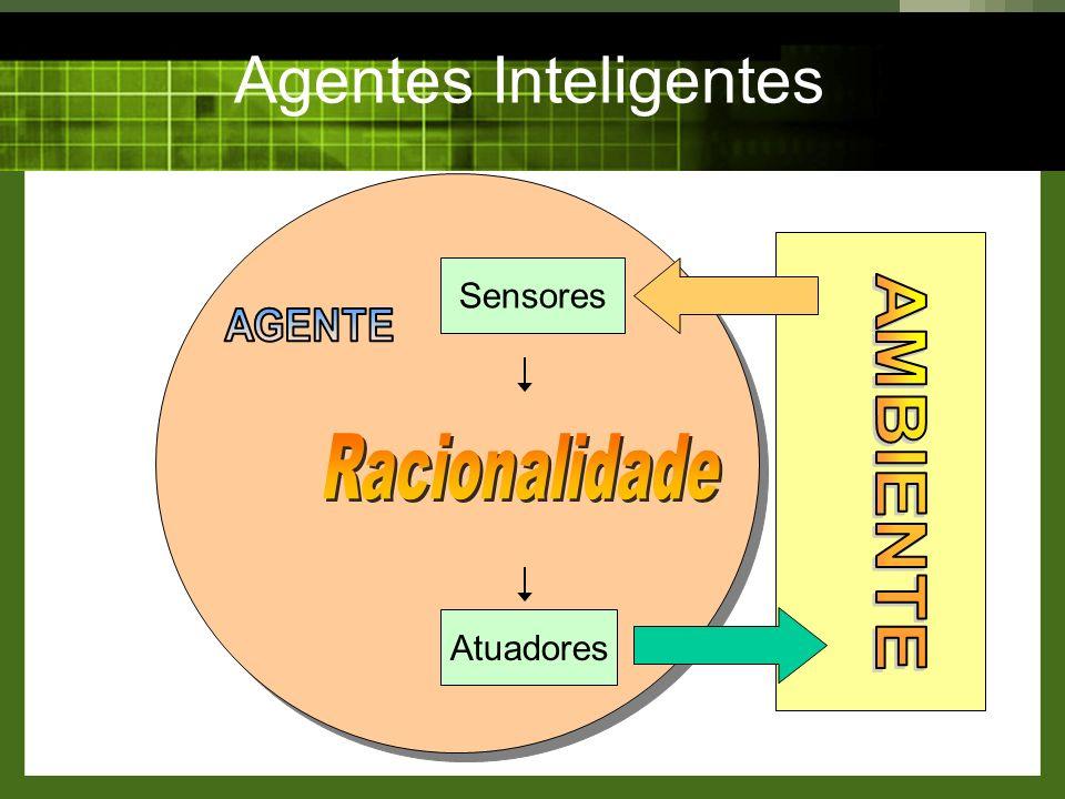 Agentes Inteligentes Sensores Atuadores