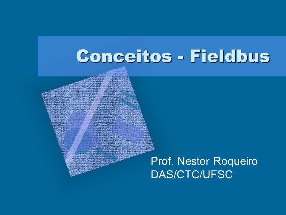 Conceitos - Fieldbus Conceitos - Fieldbus Prof. Nestor Roqueiro DAS/CTC/UFSC
