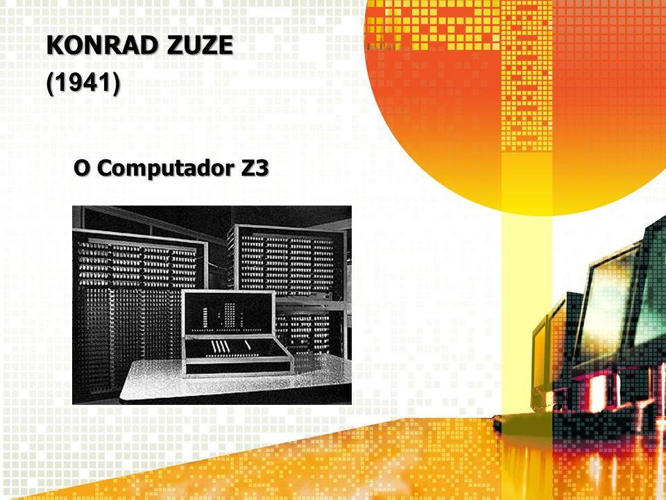 KONRAD ZUZE (1941) O Computador Z3