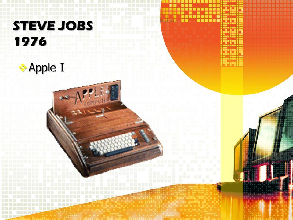 STEVE JOBS 1976 Apple I Apple I