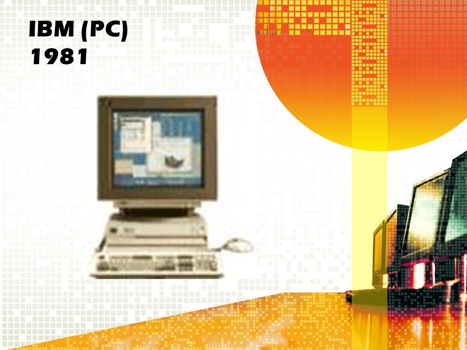 IBM (PC) 1981