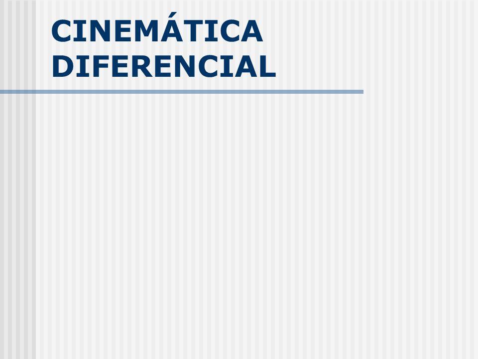 Cinemática Diferencial Cinemática De Velocidade =