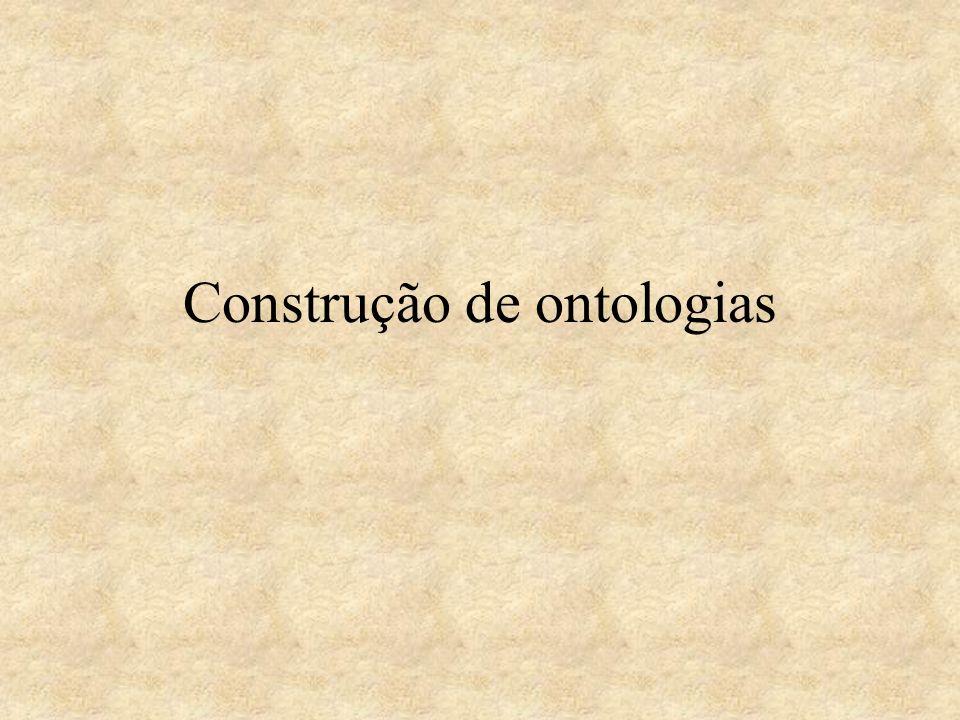 Construção de ontologias