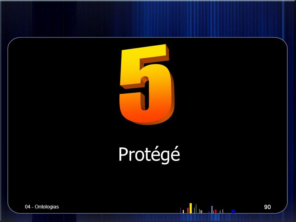 Protégé 90 04 - Ontologias
