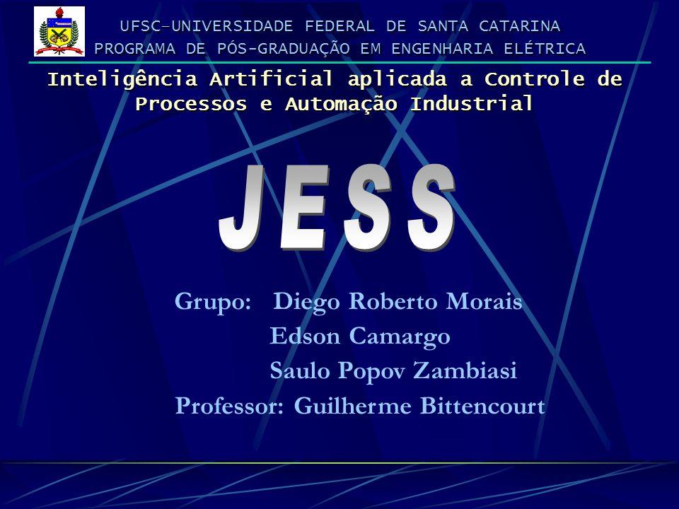 ESCOPO DA APRESENTAÇÃO Características importantes para a escolha dos shells; Estudo comparativo dos shells; Caracterização do JESS; Processamento de um Sistema Especialista; Algoritmo RETE.