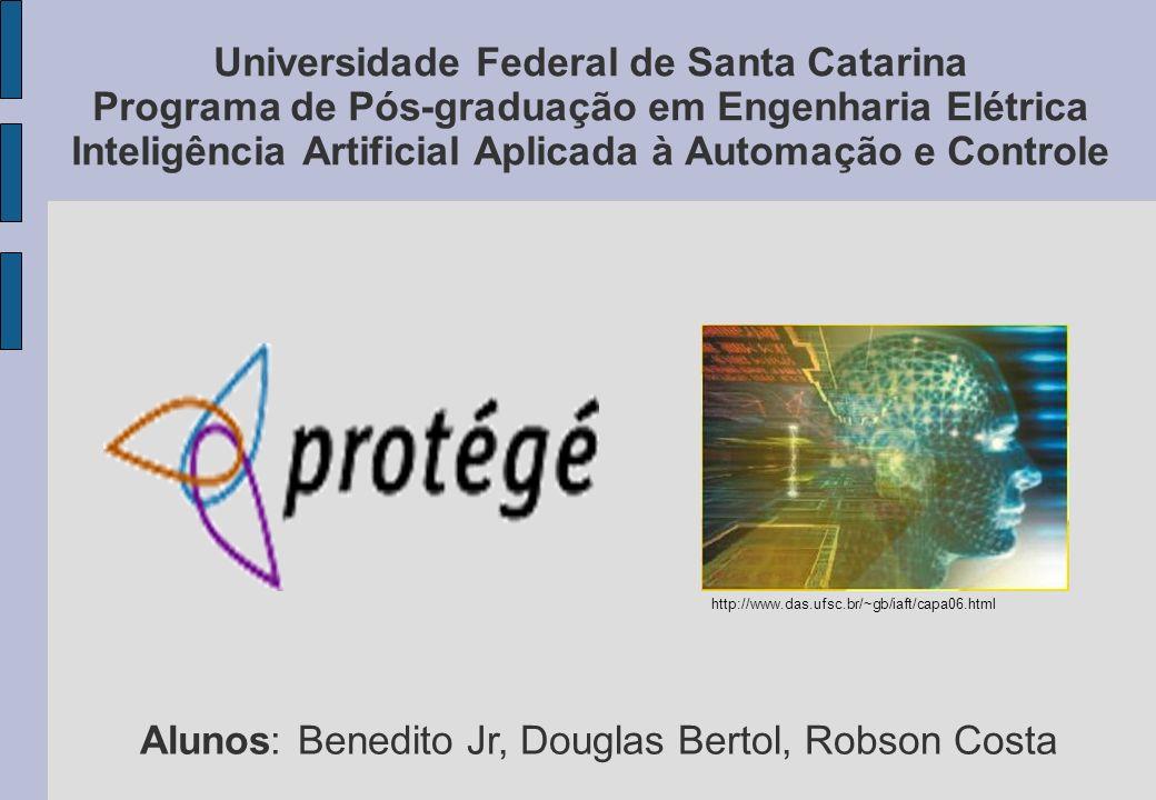 Universidade Federal de Santa Catarina Programa de Pós-graduação em Engenharia Elétrica Inteligência Artificial Aplicada à Automação e Controle Alunos