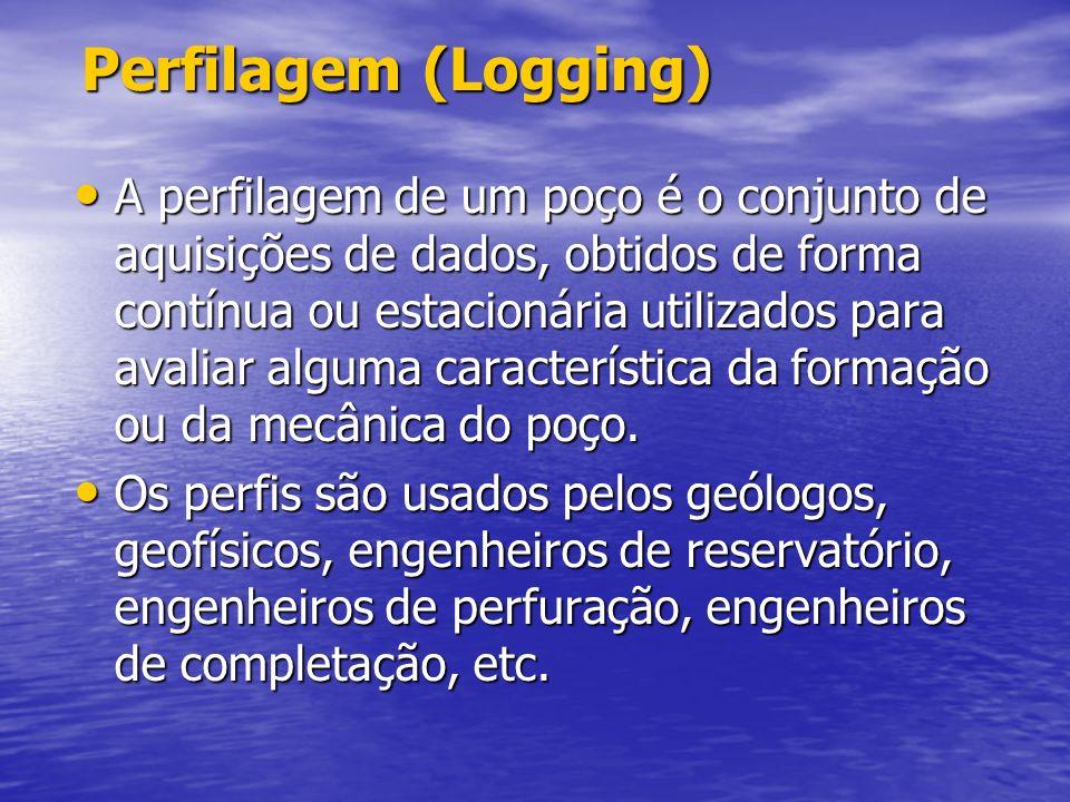 Avaliação de formação (OH) Avaliação de formação (OH) A perfuração de um poço é dividida em fases. Cada fase é caracterizada por um Bit size e uma lam