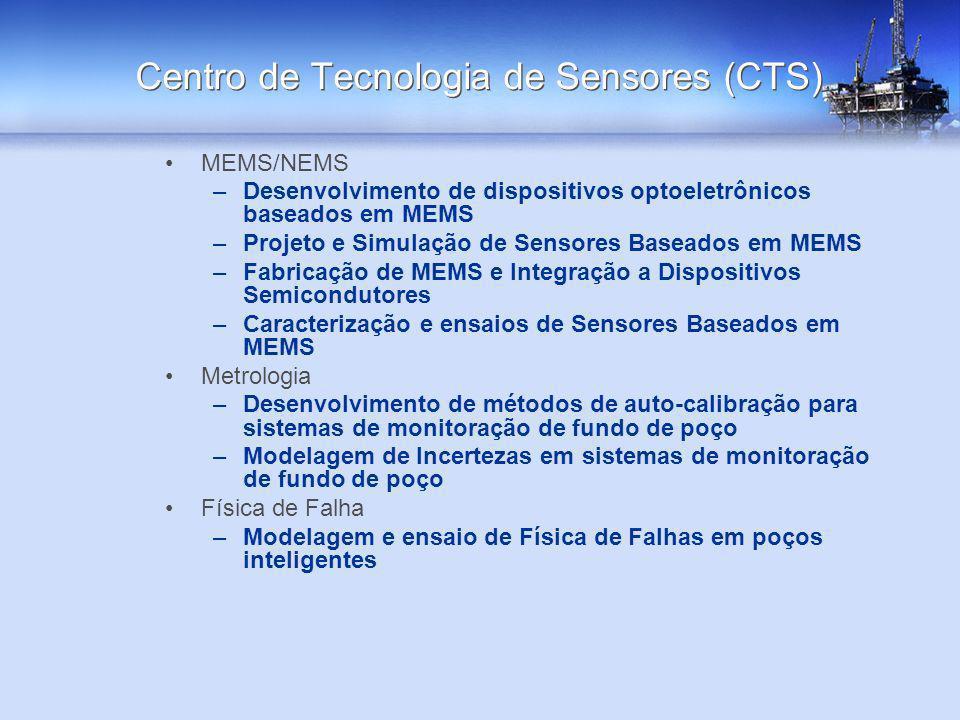 MEMS/NEMS –Desenvolvimento de dispositivos optoeletrônicos baseados em MEMS –Projeto e Simulação de Sensores Baseados em MEMS –Fabricação de MEMS e In