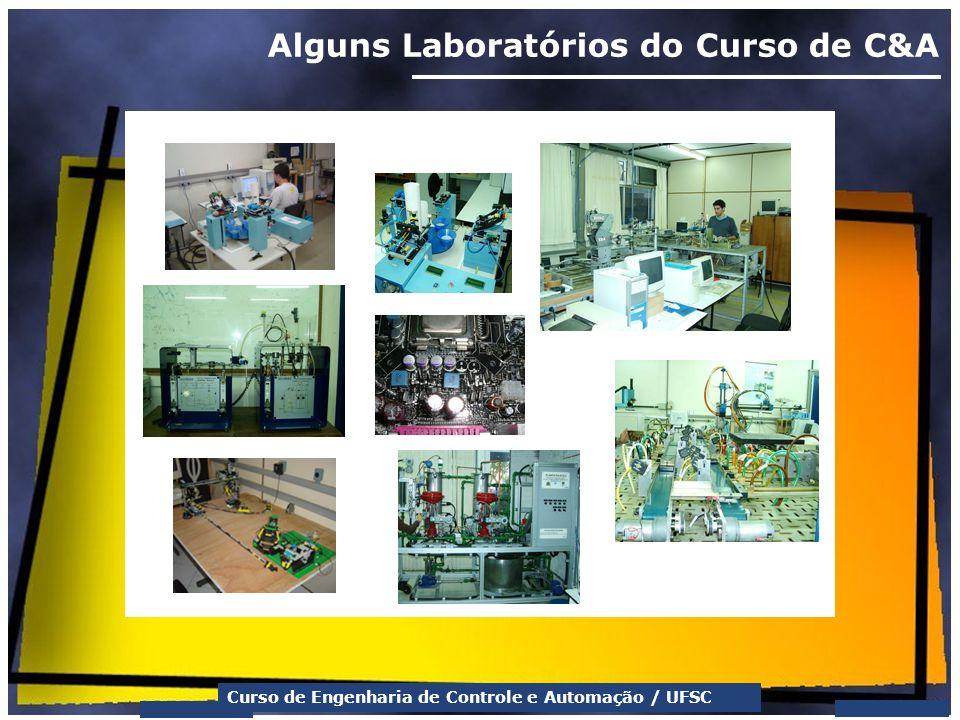 Curso de Engenharia de Controle e Automação / UFSC Alguns Laboratórios do Curso de C&A