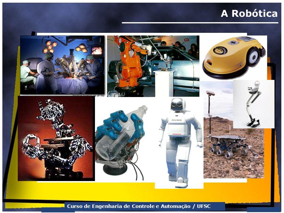 Curso de Engenharia de Controle e Automação / UFSC A Robótica