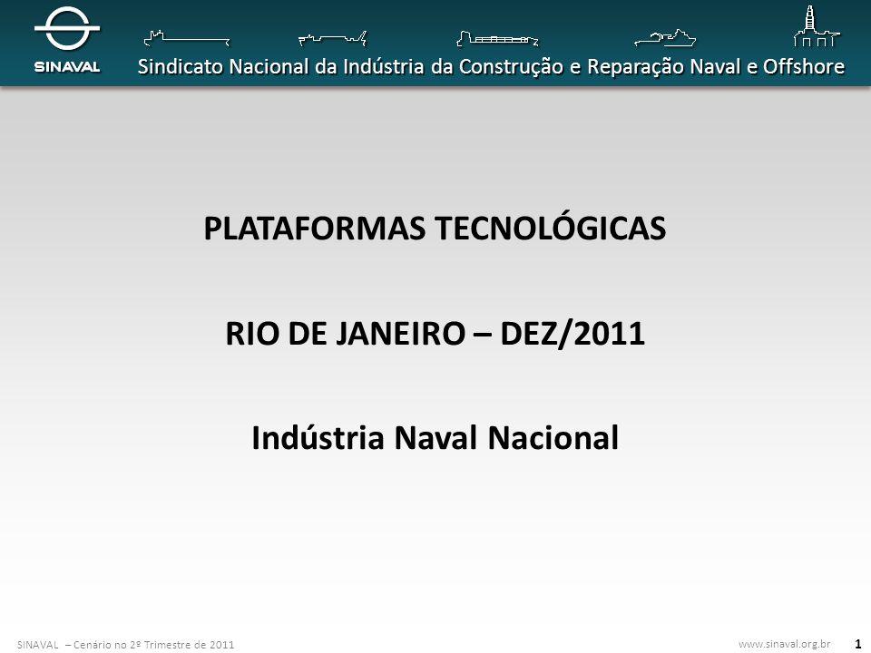 SINAVAL – Cenário no 2º Trimestre de 2011 www.sinaval.org.br Sindicato Nacional da Indústria da Construção e Reparação Naval e Offshore 22 Estaleiro de Submarinos (RJ) Local: Itaguaí, Sul do Estado do Rio de Janeiro.