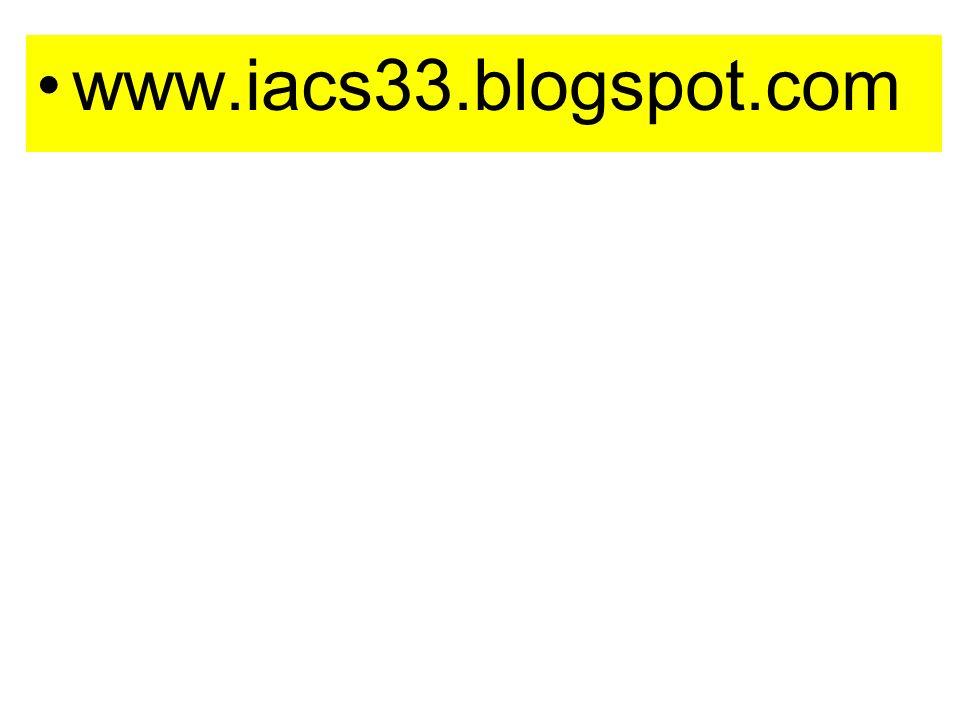 www.iacs33.blogspot.com