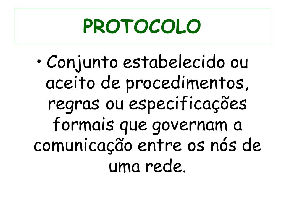 ARQUITETURA ABERTA Modelo OSI O pen S ystems I nterconnection