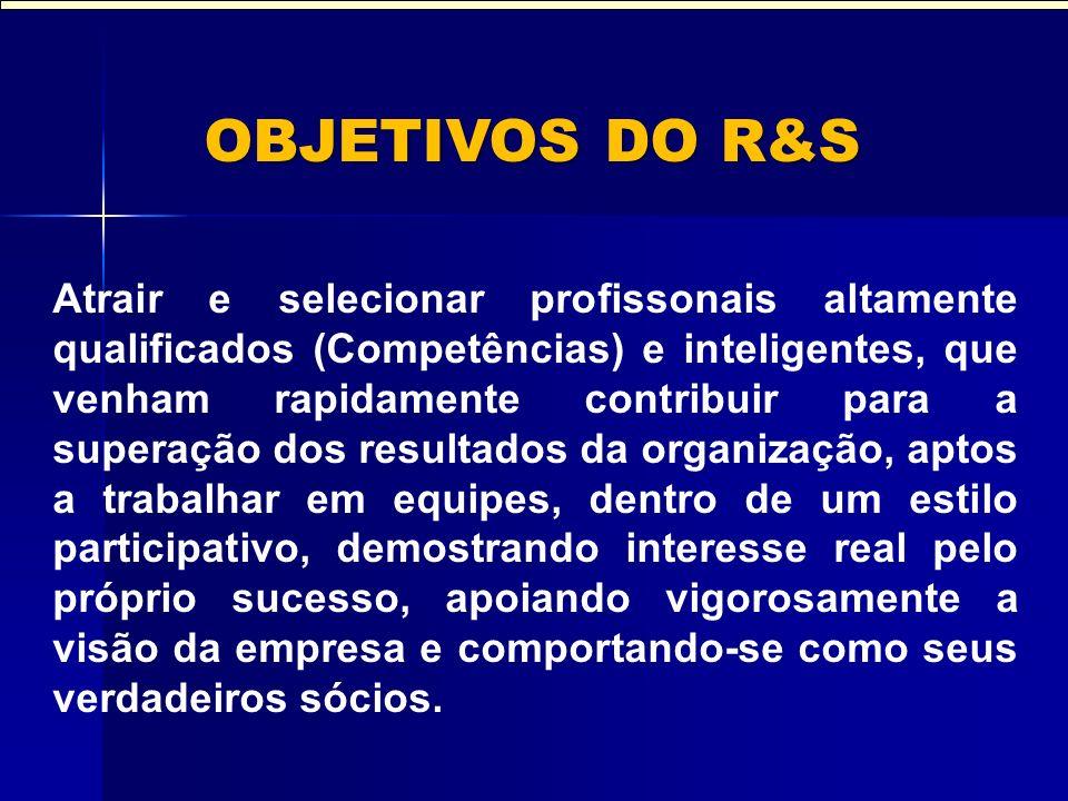 R&S – POR QUE.