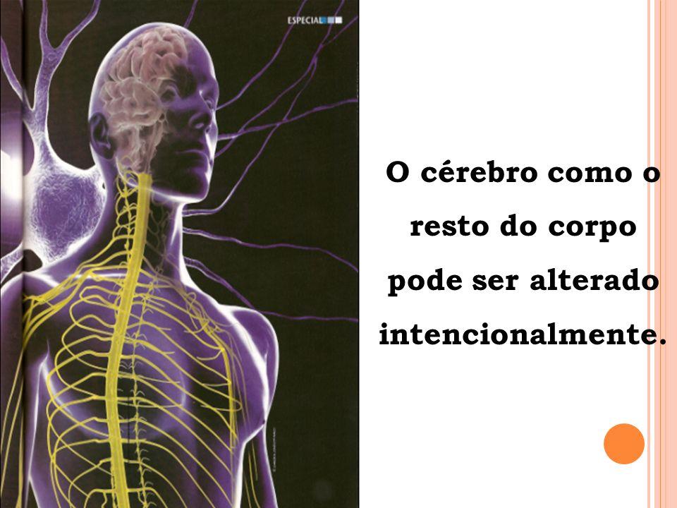 O cérebro como o resto do corpo pode ser alterado intencionalmente.