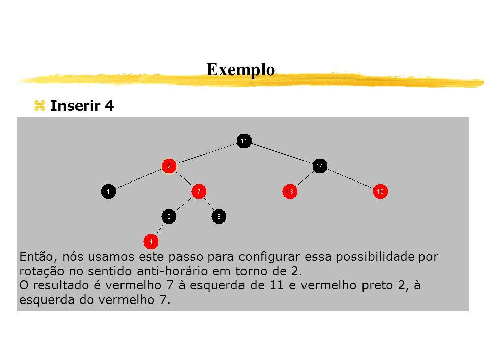 Exemplo Inserir 4 Então, nós usamos este passo para configurar essa possibilidade por rotação no sentido anti-horário em torno de 2. O resultado é ver