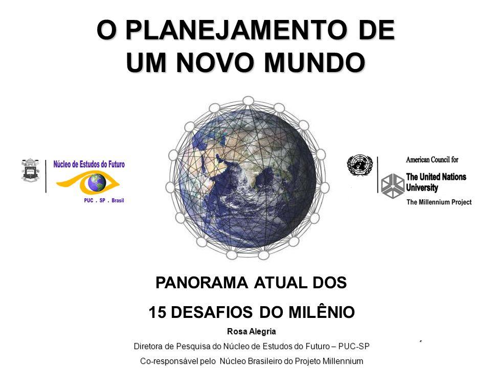 O PROJETO MILLENNIUM www.acunu.org www.stateofthefuture.org www.nef.org.br