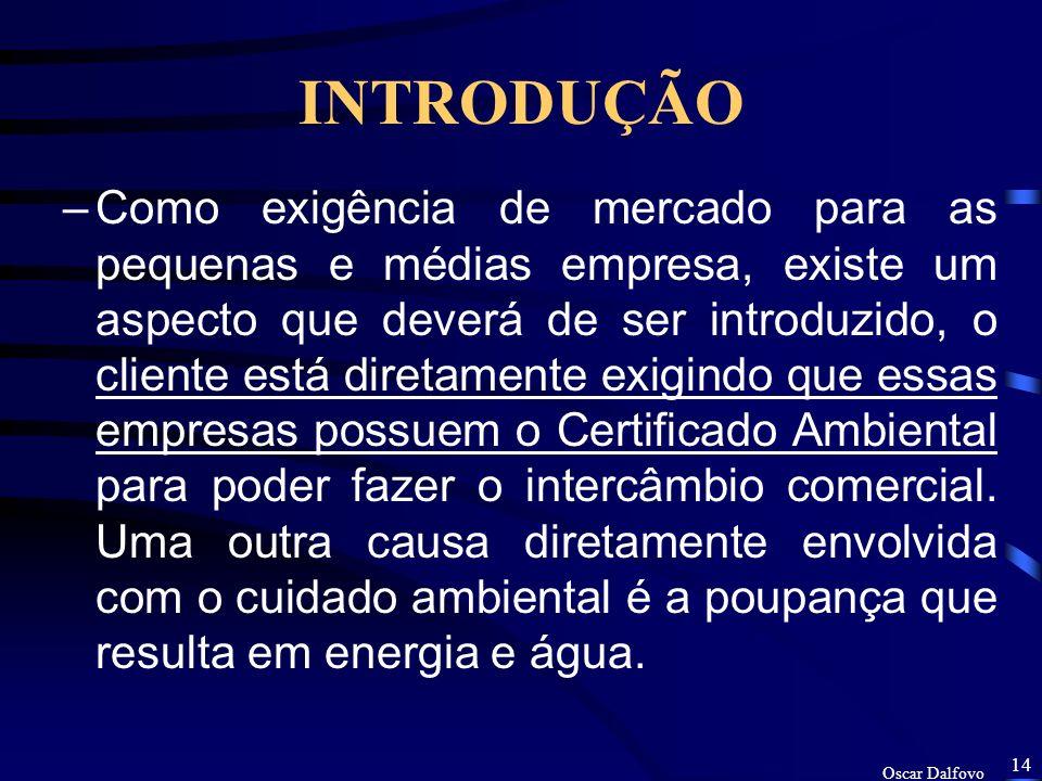 Oscar Dalfovo 13 INTRODUÇÃO –A segunda pesquisa realizada por Oscar Dalfovo (Delineamento de um modelo de sistema de informação estratégico para tomad