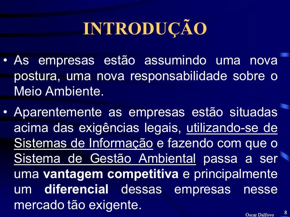Oscar Dalfovo 7 CFQA Certificado FAEMA Qualidade Ambiental