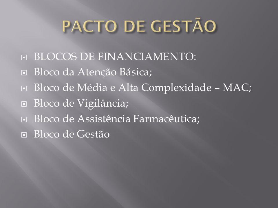 Substituição do atual processo de habilitação pela adesão ao Pacto pela Saúde, através da assinatura do Termo de Compromisso de Gestão - TCG.