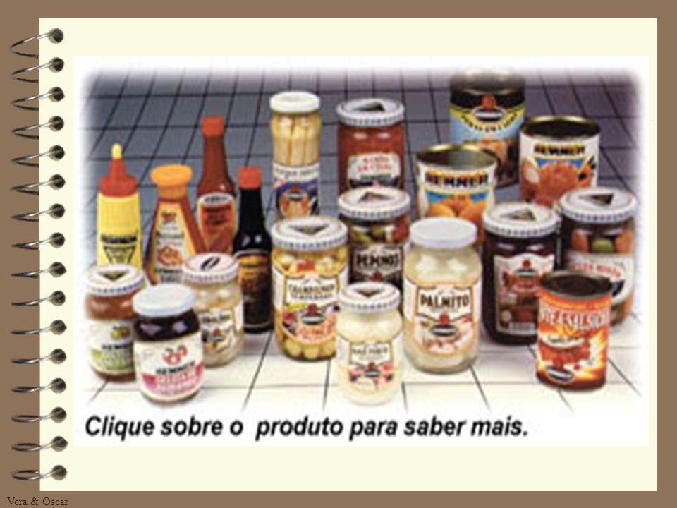 PRODUTOS DA EMPRESA Com as marcas, HEMMER, TAUÁ e CIGANO, são colocados a disposição do consumidor 55 produtos diferentes, que totalizam 200 itens. Al