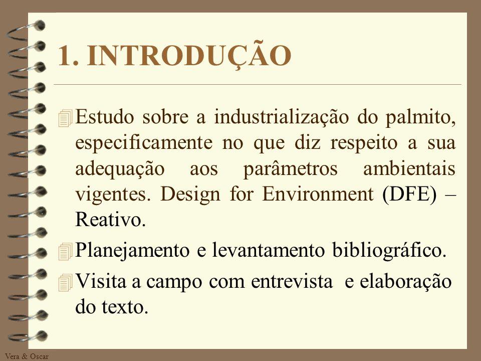 Vera & Oscar SUMÁRIO 1. Introdução 2. O processo Industrial e a Ecologia 3. A Empresa CASO - HEMMER 4. Problematização 5. Tomada de Decisão 6. Conclus