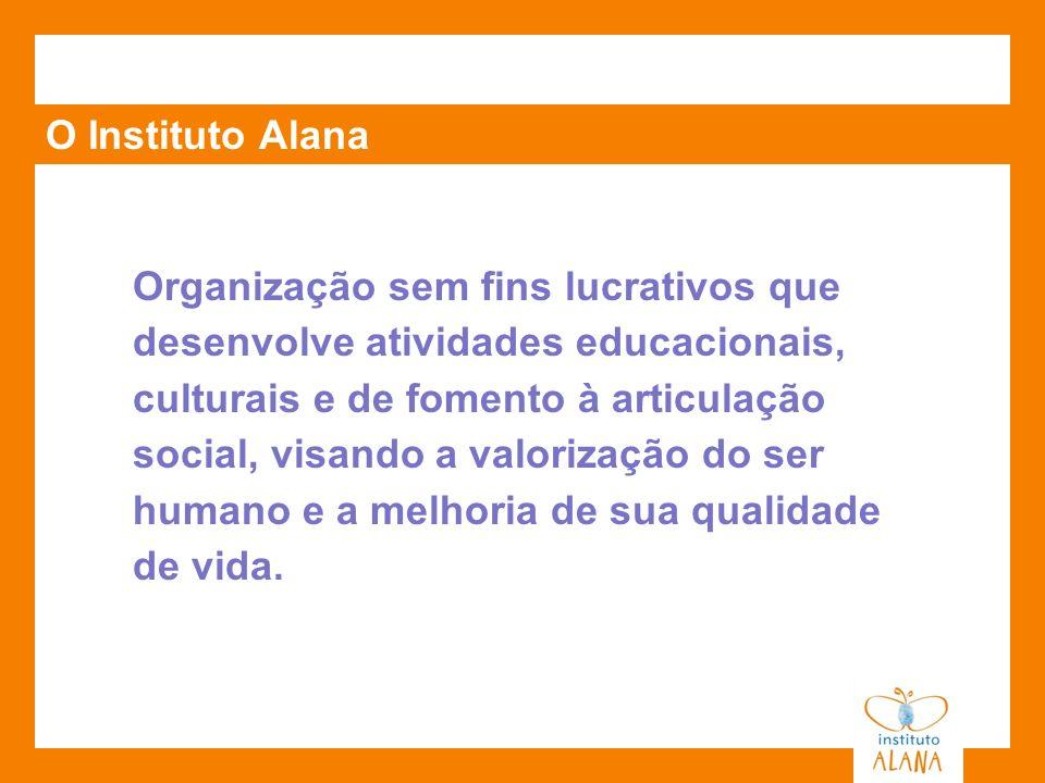 Organização sem fins lucrativos que desenvolve atividades educacionais, culturais e de fomento à articulação social, visando a valorização do ser huma