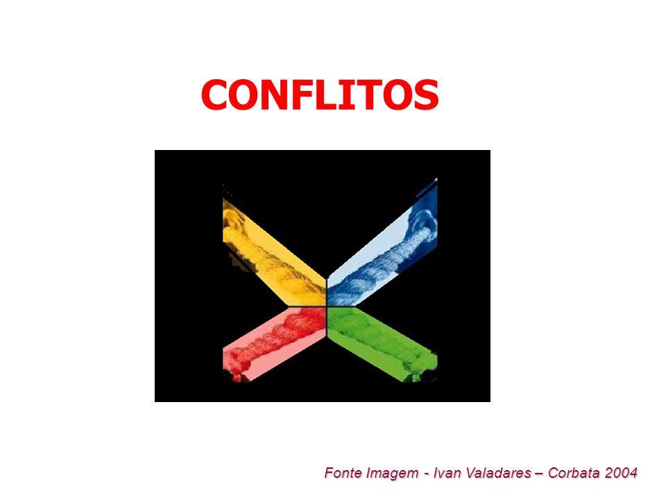 CONFLITOS Fonte Imagem - Ivan Valadares – Corbata 2004
