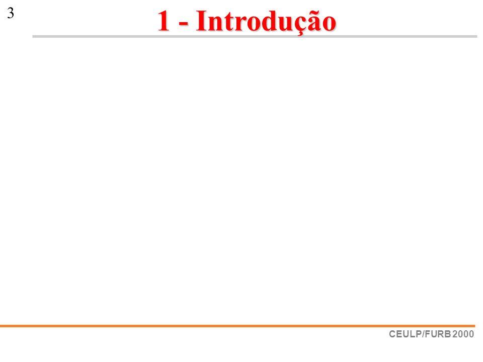 CEULP/FURB 2000 3 1 - Introdução 1 - Introdução