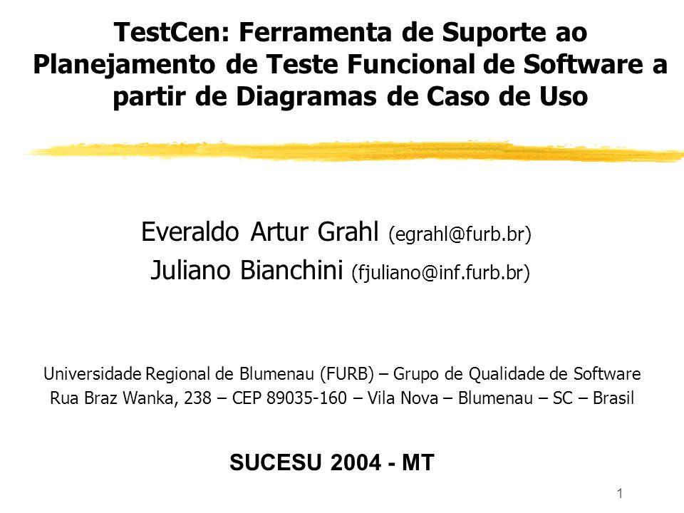 2 Roteiro da Apresentação Introdução Objetivos do artigo Casos de uso como modelo para teste Testes baseados em casos de uso; Caso de uso estendido; Padrão IEEE 829-1998; Ferramenta CASE para modelagem UML – ArgoUML.