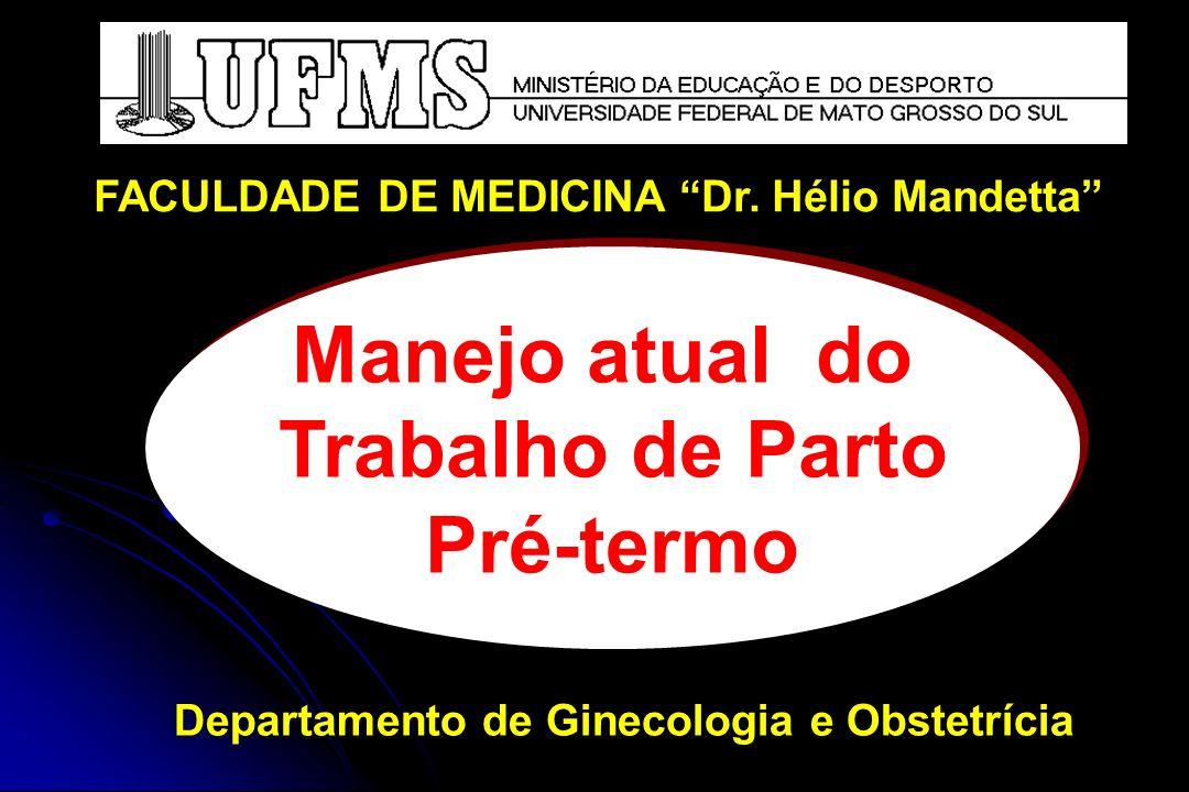 Avaliar vitalidade fetal HMG com diferencial de leucócitos Urina tipo 1 UCA ULTRA-SOM Má-formação incompatível com a vida Vitalidade Sinais indiretos de maturidade: núcleos de ossificação, ecogenicidade pulmonar, mecônio em alça, PFE, grau placentário Avaliar integridade das membranas cório-amnióticas Avaliação específica de acordo com a doença materna TPPT:EXAMES PRÉVIOS À INIBIÇÃO