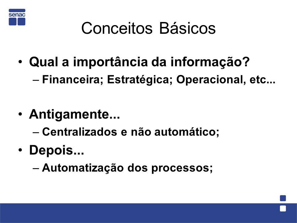 Conceitos Básicos Auditoria: –Coleta de evidências; –Busca a identificação de entidades; –Busca a origem, o destino e os meios de tráfego da informação.