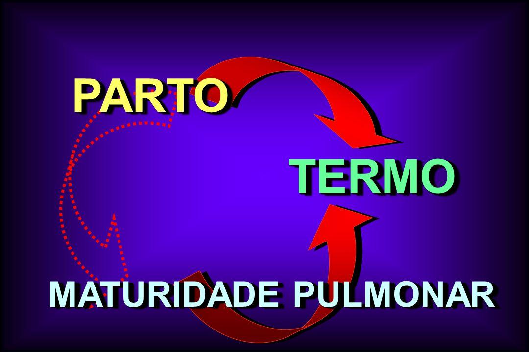 TERMOTERMO PARTOPARTO MATURIDADE PULMONAR