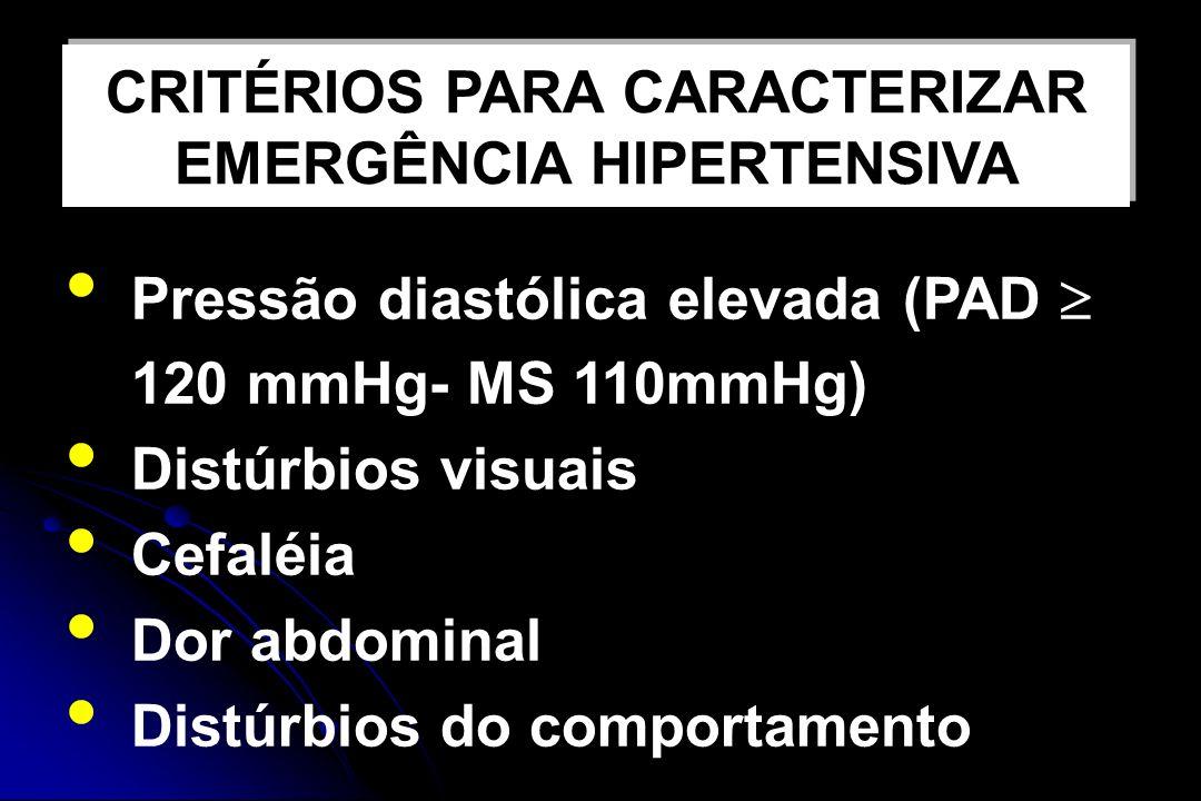 TRATAMENTO DA CRISE HIPERTENSIVA INTERNAÇÃO REPOUSO DLE MEDICAMENTOS OUTRAS DROGAS HIDRALAZINA EV SULFATO DE MAGNÉSIO