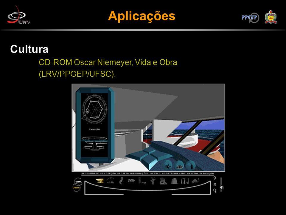Cultura CD-ROM Oscar Niemeyer, Vida e Obra (LRV/PPGEP/UFSC).