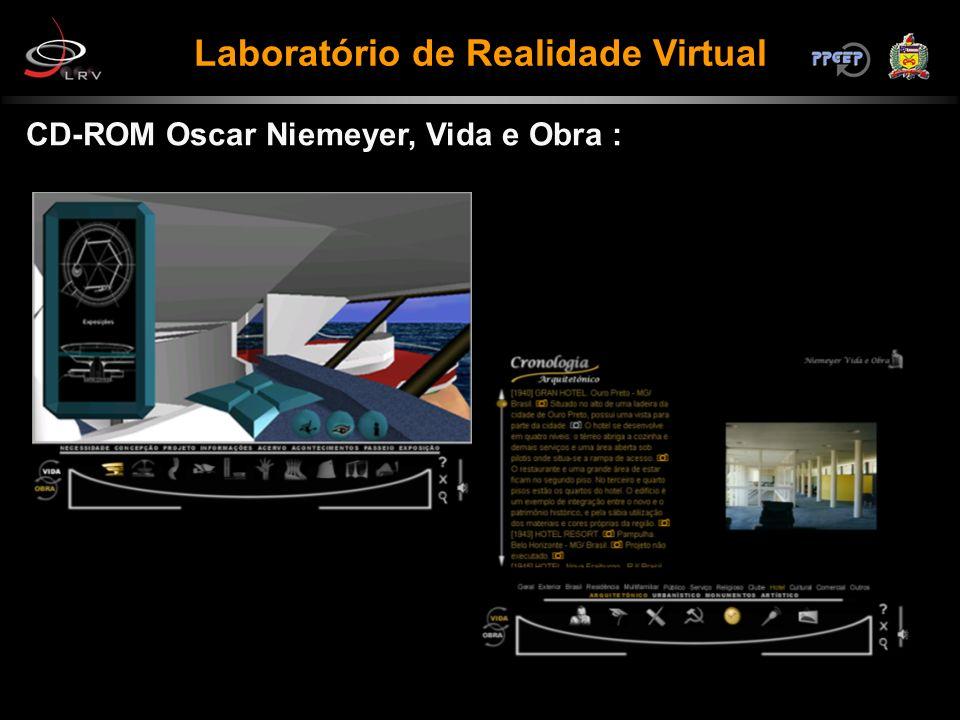 CD-ROM Oscar Niemeyer, Vida e Obra : Laboratório de Realidade Virtual