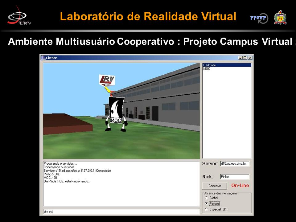 Ambiente Multiusuário Cooperativo : Projeto Campus Virtual :