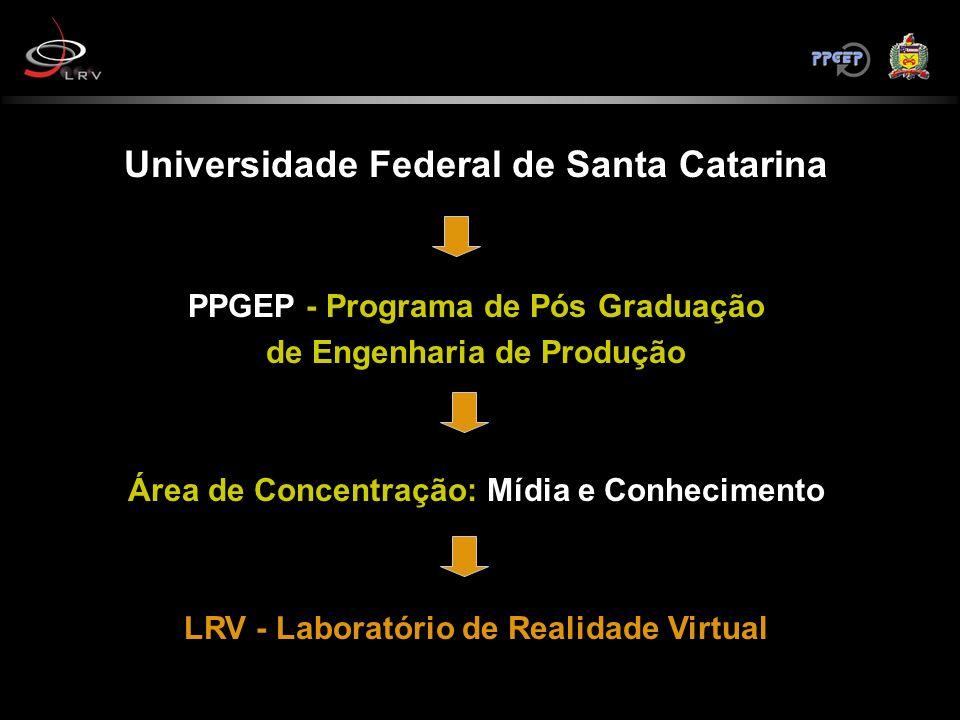 Universidade Federal de Santa Catarina PPGEP - Programa de Pós Graduação de Engenharia de Produção Área de Concentração: Mídia e Conhecimento LRV - La