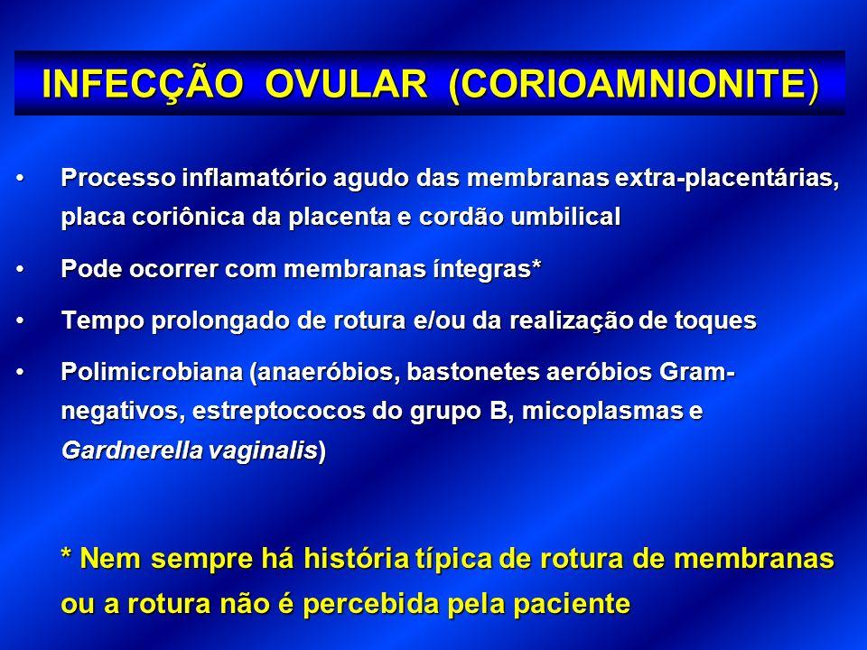 cotilédones miométrio decídua basal cório âmnio decídua parietal FETO Corioamnionite