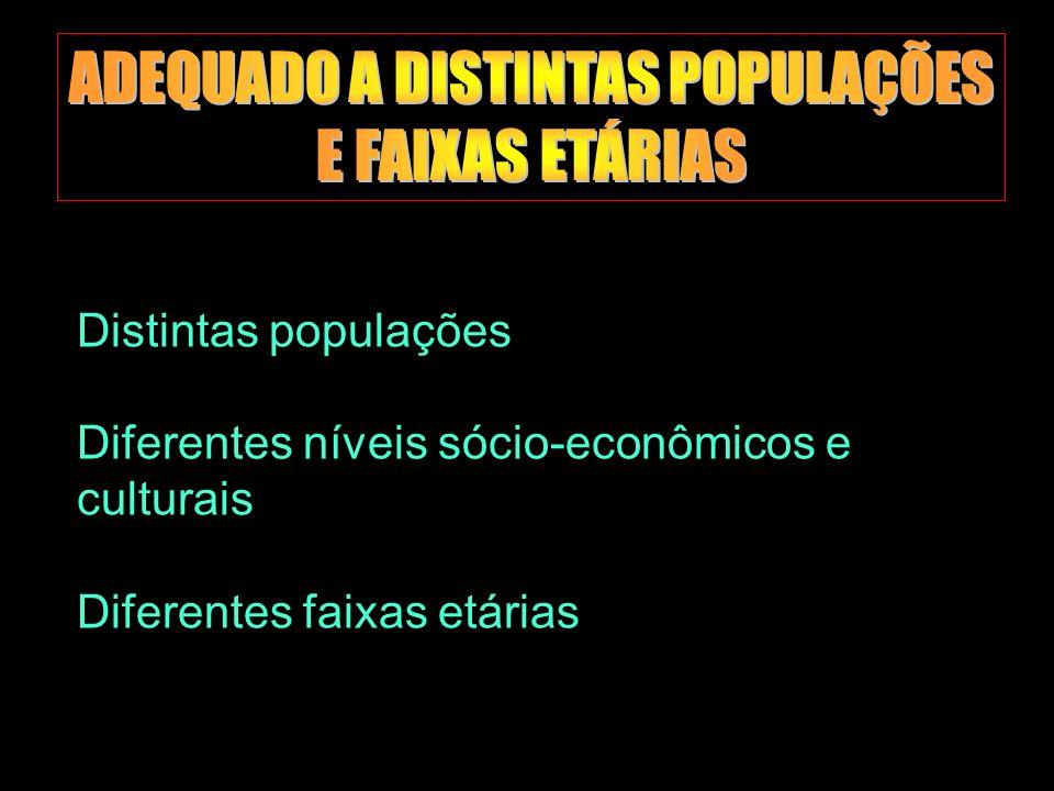 Marilene Grandesso NUFAC-PUC / INTERFACI 21 Distintas populações Diferentes níveis sócio-econômicos e culturais Diferentes faixas etárias