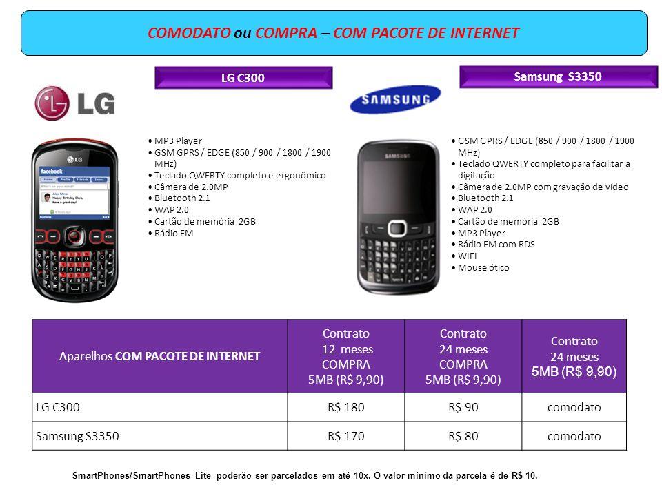 LG C300 MP3 Player GSM GPRS / EDGE (850 / 900 / 1800 / 1900 MHz) Teclado QWERTY completo e ergonômico Câmera de 2.0MP Bluetooth 2.1 WAP 2.0 Cartão de