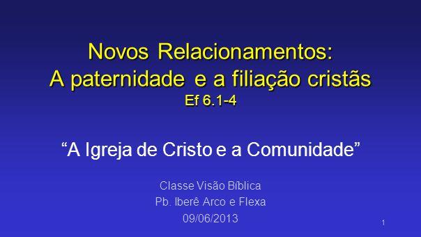 Ef.6.1-4 1Filhos, obedecei a vossos pais no Senhor, pois isto é justo.