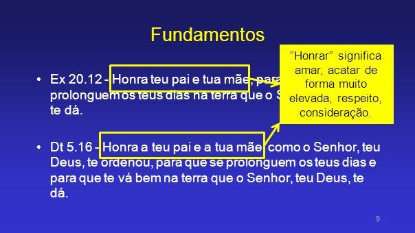 2... (que é o primeiro mandamento com promessa), 10