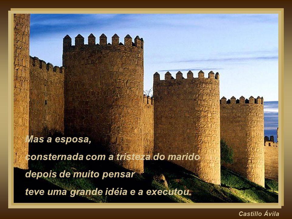 Castillo Maus Chegou em casa entristecido, sabendo que perderia seu cargo e que mais do que isso perderia a confiança do rei.