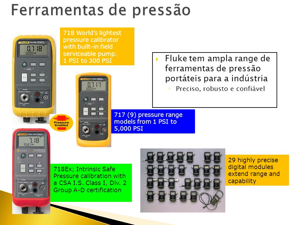 Pressão ISO 9001