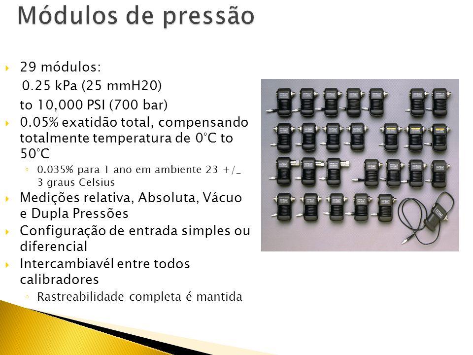Fluke tem ampla range de ferramentas de pressão portáteis para a indústria Preciso, robusto e confiável 718 Worlds lightest pressure calibrator with b