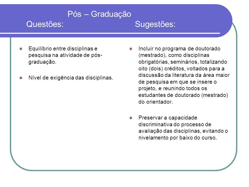 Extensão Questões: Sugestões: Interação restrita do IF com estudantes do ensino médio e fundamental.