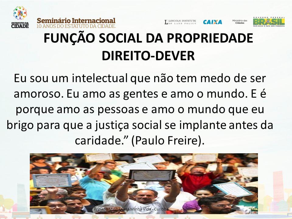 A não implementação de instrumentos de recuperação das valorizações urbanas dadas gratuitamente aos proprietários, é importante fator de agravamento das desigualdades sociais urbanas.